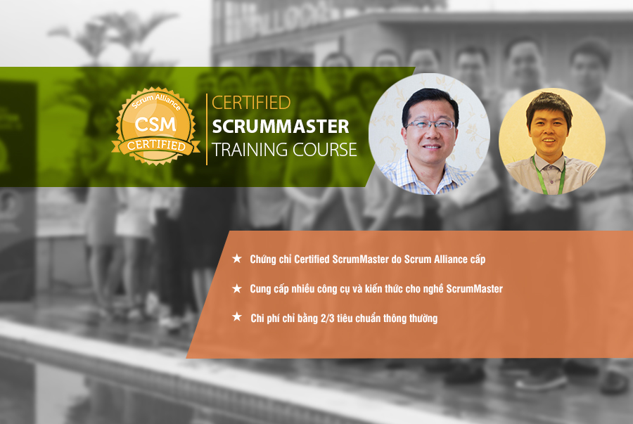 Khóa học ScrumMaster lấy chứng chỉ quốc tế ScrumAlliance